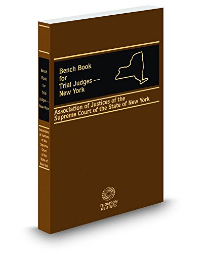 Bench Book for Trial Judges New York,: Lawyers Cooperative Publishing