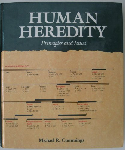 9780314640321: Human heredity: Principles and issues