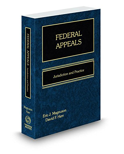 9780314642455: Federal Appeals: Jurisdiction & Practice, 2015 ed.