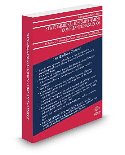 9780314647610: State Immigration Employment Compliance Handbook, 2016 ed.