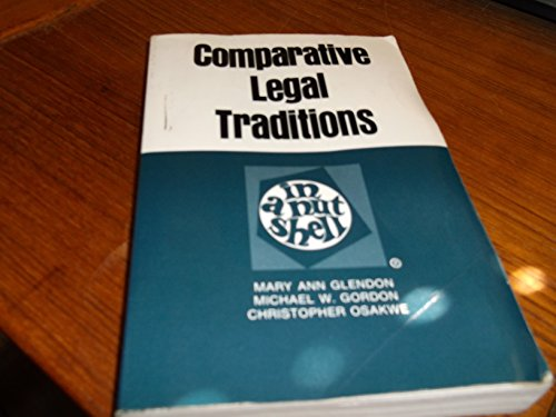 9780314651754: Comparative Legal Traditions in a Nutshell