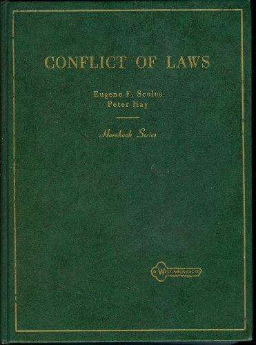 9780314653451: Conflict of laws (Hornbook series)
