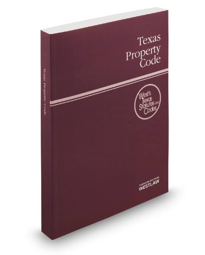 9780314658203: Texas Property Code, 2014 ed. (West's® Texas Statutes and Codes)