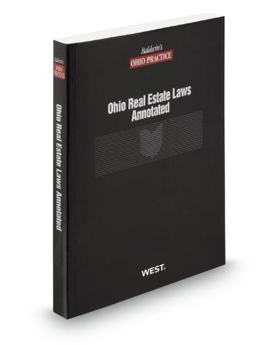 9780314658579: Ohio Real Estate Laws Annotated, 2013 ed.