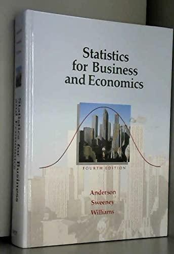 9780314665003: Statistics for Business and Economics