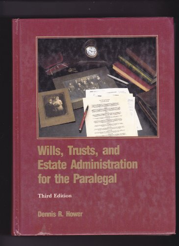9780314667892: Wills, Trusts, and Estate Administration for the Paralegal