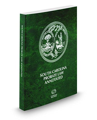 9780314669155: South Carolina Probate Law Annotated, 2015 ed.