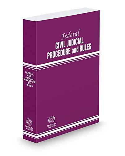 9780314672100: Federal Civil Judicial Procedure and Rules, 2015 ed.