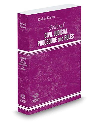9780314672117: Federal Civil Judicial Procedure and Rules, 2015 revised ed.