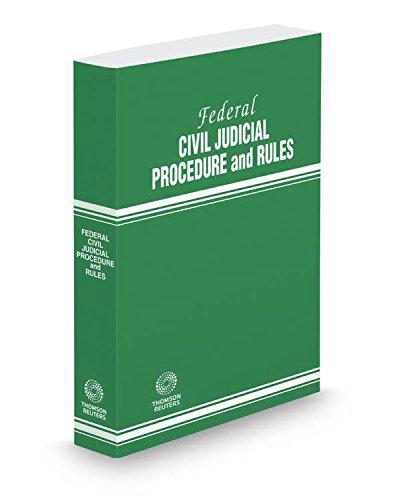 9780314688347: Federal Civil Judicial Procedure and Rules, 2017 ed.