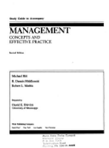 9780314696540: Management: Concepts and Effective Practice