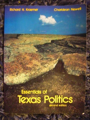 9780314696595: Essentials of Texas politics
