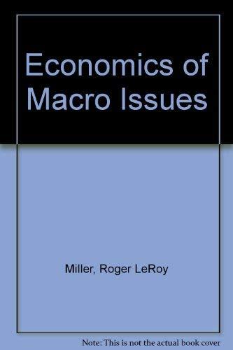 9780314696670: Economics of Macro Issues