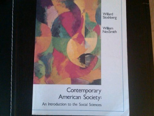 9780314696717: Contemporary American society: An introduction to the social sciences