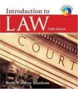 9780314698957: Introduction to law