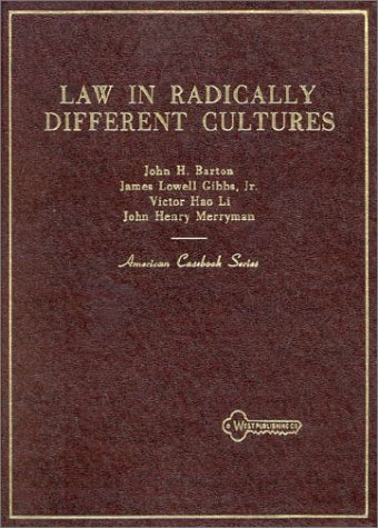 9780314703965: Law in Radically Different Cultures
