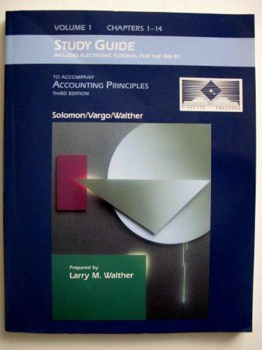 9780314707574: Accounting Principles (Practice Set 3)
