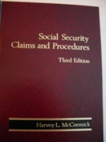 9780314717436: Social security claims and procedures