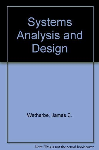 9780314730985: Systems Analysis and Design