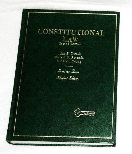 Constitutional law (Hornbook series): Nowak, John E