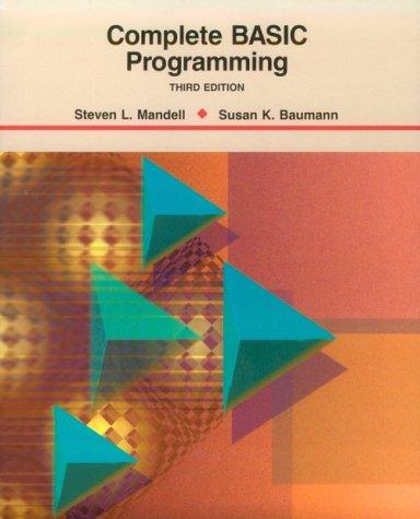 9780314752840: Complete Basic Programming