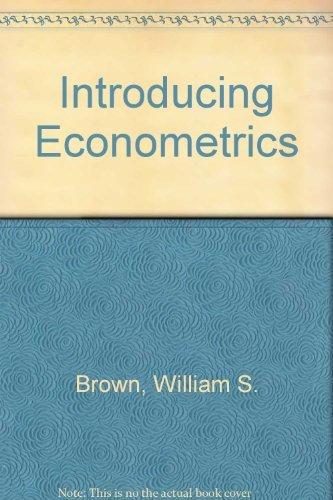 9780314770622: Introducing Econometrics
