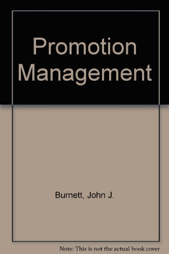 9780314778512: Promotion Management: A Strategic Approach