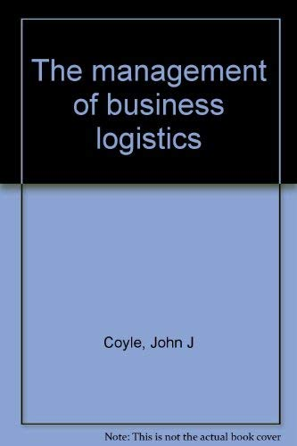9780314778758: The management of business logistics