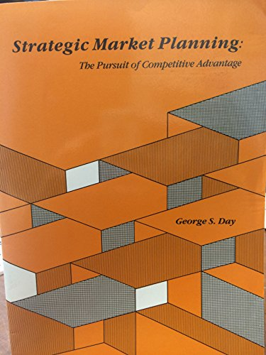 9780314778840: Strategic Business Planning: A Marketing Perspective