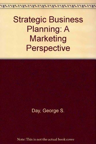 9780314778840: Strategic Market Planning: The Pursuit of Competitive Advantage