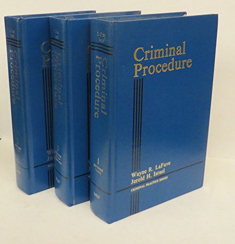 9780314792792: Criminal procedure (Criminal practice series)