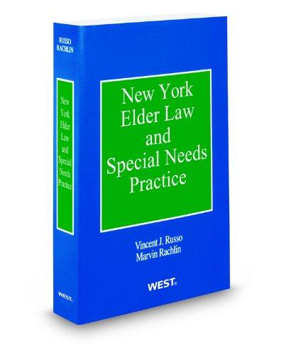 9780314800183: New York Elder Law and Special Needs Practice, 2014 ed.