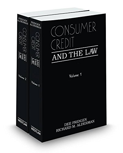9780314800879: Consumer Credit and the Law, 2013-2014 ed.