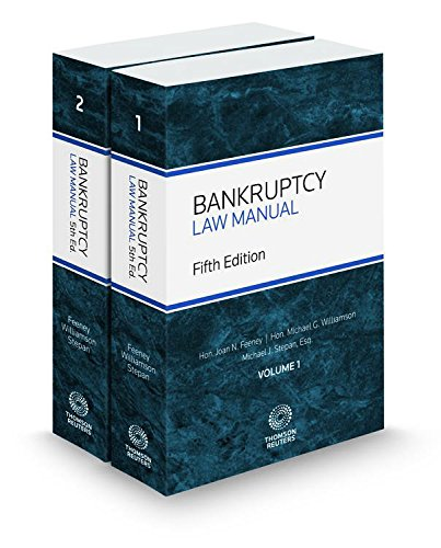 9780314800985: Bankruptcy Law Manual, 5th, 2016-2