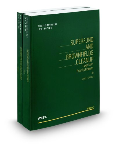 9780314801050: Superfund and Brownfields Cleanup, 2014-2015 ed.
