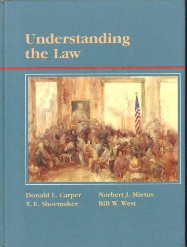 9780314807236: Understanding the Law