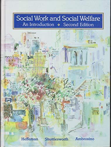 9780314836939: Social Work and Social Welfare: An Introduction