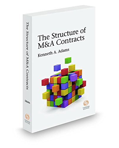 9780314846198: Structure of M&A Contracts