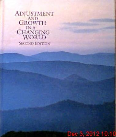 9780314852809: Adjustment and Growth in a Changing World