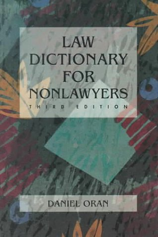 9780314875358: Law Dictionary for Non-Lawyers
