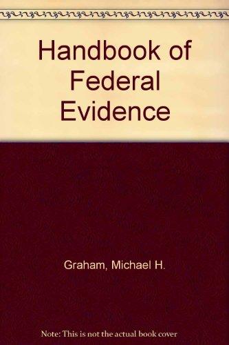 9780314880277: Handbook of Federal Evidence