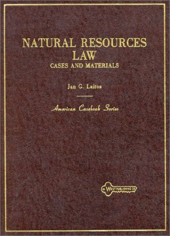 9780314904133: Natural Resources Law: Cases and Materials (American Casebook Series)