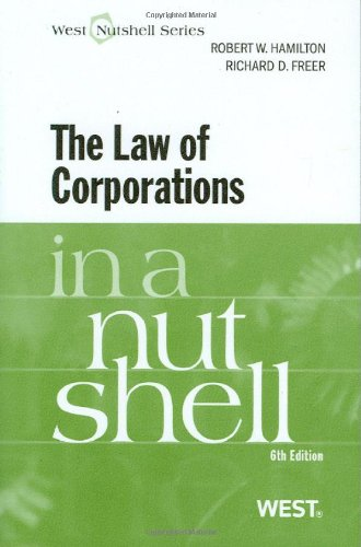9780314904577: The Law of Corporations in a Nutshell