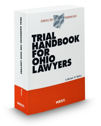 9780314906397: Trial Handbook for Ohio Lawyers, 2010 ed. (Baldwin's Ohio Handbook Series)