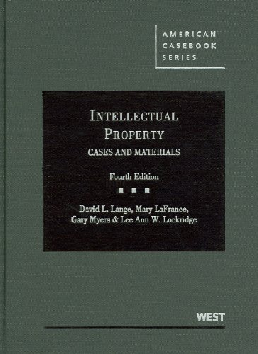 9780314906861: Intellectual Property Cases and Materials