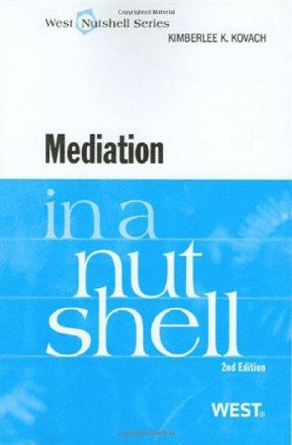 9780314908803: Mediation in a Nutshell, 2d