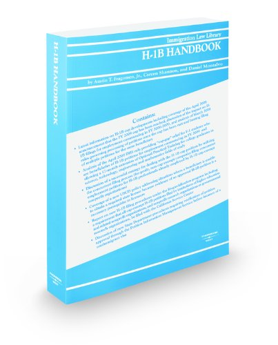 9780314910400: H-1B Handbook, 2009 ed.