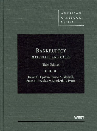 9780314911551: Bankruptcy: Materials and Cases (American Casebook Series)