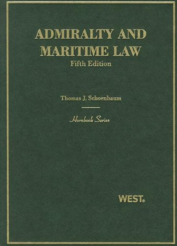 9780314911575: Admiralty and Maritime Law (Hornbooks)