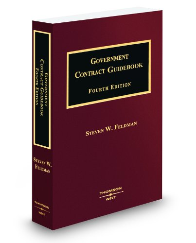 9780314920720: Government Contract Guidebook, 4th, 2009-2010 ed.